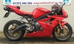 Make-Model: TRIUMPH DAYTONA 675 Colour: RED Mileage: