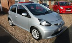 Superb Aygo top of the range Platinum model.. Only 1