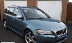 Stunning Volvo V50 in Orinoco Blue metallic with full