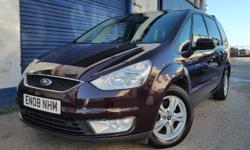 2008 FORD GALAXY 1.8TDCI NEW CAMBELT EXCELLENT 7 SEATER