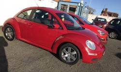 Low Mileage For Year VW Beetle 1.6 Luna In Red With