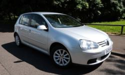 2008 08 reg VOLKSWAGEN GOLF 1.6 Match FSI 5dr, Manual,