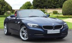 BMW Z4 3.0i sDrive30i 2-Dr Convertible finished in deep