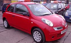 59 REGISTRATION NISSAN MICRA 1.2 VISIA IN RED, ONE