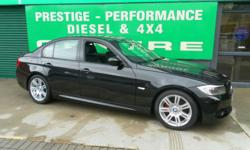 BMW 2.0 318d M SPORT.Saloon. Diesel. Manual. 2010 (10