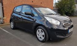 An immaculate KIA Venga with 2 Keepers (1 Company_KIA