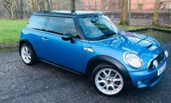 Metallic Electric blue, £3800 of factory of extras when