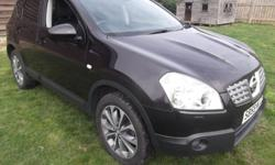 BLACK, Nissan Connect, Panoramic Glass Roof, Colour