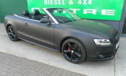 AUDI A5 2.0 TDI S LINE CONVERTIBLE [Start Stop) 6 Speed