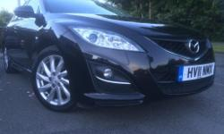 2011(BLACK)MAZDA6-2.0TS2- PETROL,TOP SPECS,ONE OWNER