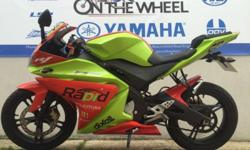 Yamaha YZF-R125, LIME GREEN-RED 2295 8436 Miles! Now