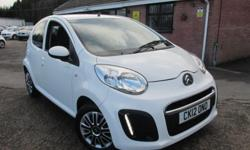 This LOW MILEAGE newer shape Citroen C1 VTR not only