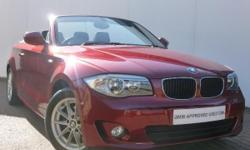 BMW 1 Series 2.0TD 118d SE 2-Dr Convertible finished in