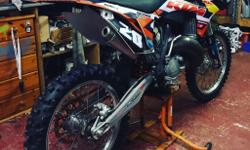 Hi I'm selling my 2012 ktm 150 and all my spares due to