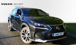 2015 Lexus NX 300h 2.5 F-Sport 5dr CVT with Automatic