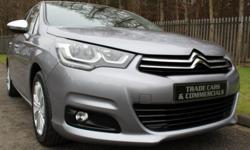 A STUNNING NEW LIKE CITROEN C4 WITH LOW MILEAGE THAT