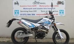 Sinnis Apache 2015 Model, Only £1595 Plus + £100 On The