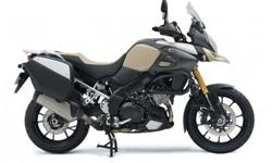 Introducing the V-Strom 1000 Desert, this model keeps