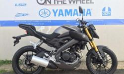 2016 YAMAHA MT-125 ABS MATT GREY Yamaha's new