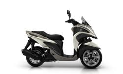 2016 YAMAHA TRICITY 125 VELVET WHITE Time is too