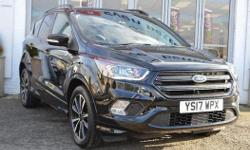 This Ex Demonstrator Ford Kuga AWD ST Line Finished In