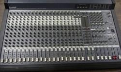 This is a 22 channel mixing desk, a Phonic Sonic