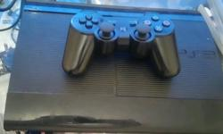 Ps3 super slim 250gig all working with few games and