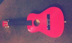 "28"" red guitar. Perfect condition apart from missing"