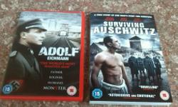 2 Auschwitz dvds tells you about the cocentration camps