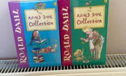 2 Brand new collection of Roald Dahl books There are 6