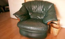 Great, genuine leather armchairs have had a good life