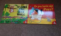 2 picture books In excellent condition from a smoke and