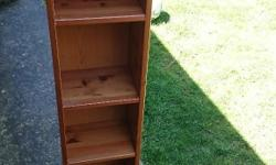 2 x Solid Pine CD racks, great condition, fully