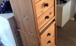 2x bedside draws in good working condition. Collection