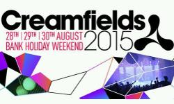 1 x Standard 3 day camping ticket for Creamfields 2015.