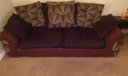 3 seater scatter back sofa. Good condition, less than 4