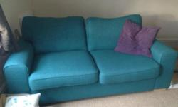 3 seater sofa and matching armchair Only 4 months old