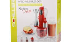 The 3 in 1 stick blender is ideal for those of you who