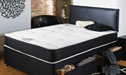 New Factory Packed & Sealed 4.FT.6 '' Double Divan Bed