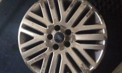 I have for sell, 4 alloy wheels just took off from Ford