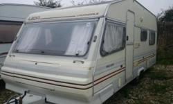 6 Berth 1992 21ft ( inc towing hitch) tourer, ideal for