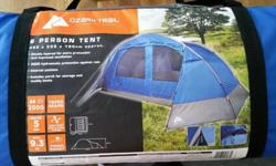 6 Person tent - 450 x 355 x 190 cm ! - features listed
