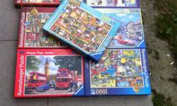 7 Ravernsburger jigsaws..very popular and usually not
