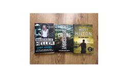 8 Assorted crime/thriller books ( Hardbacks ) Matt