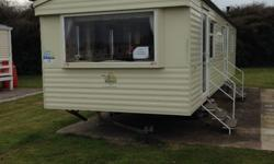 8 berth static caravan on Burnham on Sea Haven park.
