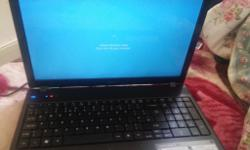 Acer 5552 laptop fully working comes with charger its