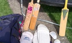 Adults cricket kit for sale, all is used - except the