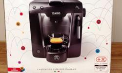 Authentic barista taste with 15 bar pressure the
