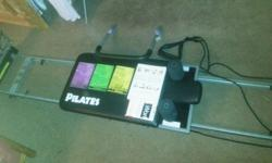 Aero pilates machine in excellent used condition. Folds