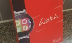 Nearly new Alcatel One Touch smart watch. I've had it